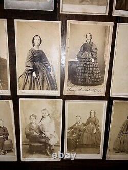Brady & Gardner Photos New York, Washington DC Antique Civil War Era Album +
