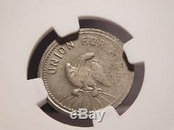 Brooklyn, New York civil war token store card NGC MS63