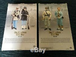 Brotherhood Of Arms CIVIL War Figures 1st Texas & 146th Ny Zonave Infantries-new