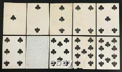 C. 1860 Samuel Hart Playing Cards 49/52 Partial New York U. S Civil War Era Saloon