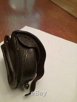 C. S. STORMS NY MAKER Civil War revolver percussion cap pouch