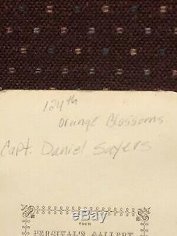 CIVIL WAR 124th Orange Blossoms Orange Co. NY Capt. Sayers RARE
