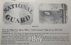CIVIL WAR 7th New York National Guard Belt Plate early war VA camp