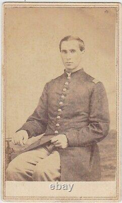CIVIL WAR CDV SOLDIER I. D. LESTER HALL 56th NEW YORK & 128 U. S. C. T
