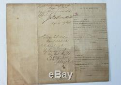 CIVIL WAR COMMISSION 121 regiment NY VOLUNTEERS 1863, 1864, 1865 documents