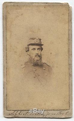 CIVIL War CDV Col. Nelson Taylor 72nd N. Y. By Fredricks
