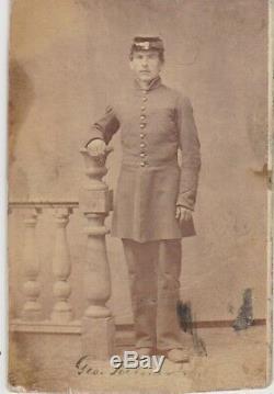 CIVIL War CDV Soldier Id. G. Foehner 140th New York