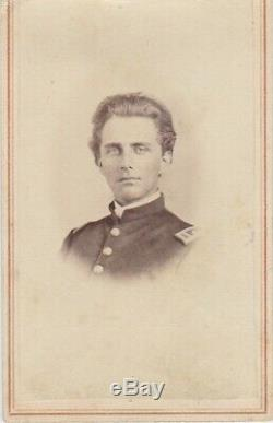 CIVIL War CDV Soldier Officer New York