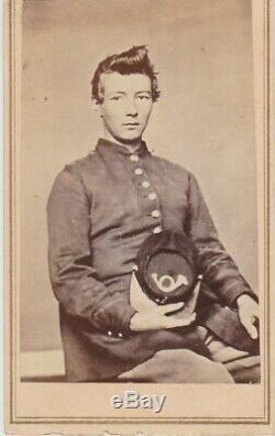 CIVIL War CDV Soldier Plattsburgh, New York