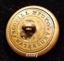 CIVIL War Era 2 Pc New York Albany Burgesses Corps Button Alberts# Ny-67-b