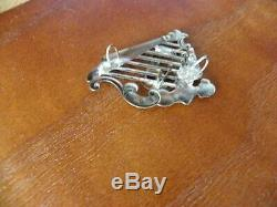 CIVIL War Era 63rd New York Irish Brigade Soldiers Harp Hat Insignia