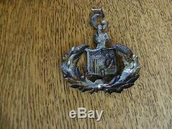 CIVIL War Era Duryea's 5th New York Zouaves Officiers Hat Insignia