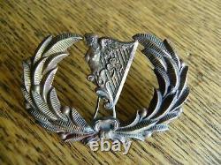 CIVIL War Era New York Irish Brigade Officiers Harp Insignia