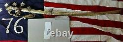 CIVIL War M 1850 Staff & Field Presentation Sword To Col F. H Braulik 163rd N Y