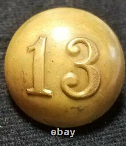 CIVIL War Or Post CIVIL War 2 Pc 13th New York Infantry Militia Albert# Ny-50