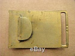 CIVIL War Policeman New York City Waist Belt Plate