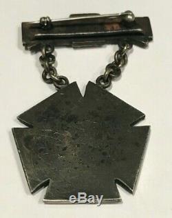 CIVIL War Rare U. S. 1862-1865 New York State 125th Volunteer Regiment Medal
