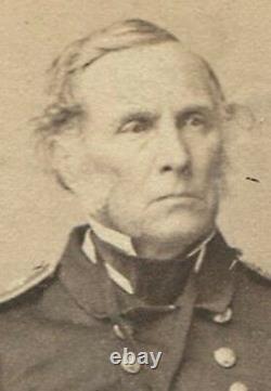 CIVIL War Rear Admiral Breese, Usn, Union. CDV By Brady, Anthony, N. Y