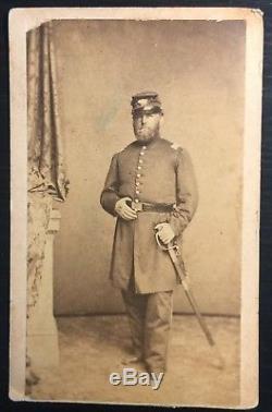 CIVIL War Soldier 15 Regiment New York Volunteers Major G. W. Warner