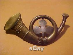 CIVIL War Union Army Infantry New York Irish Brigade Kepi, Cap Hat Insignia