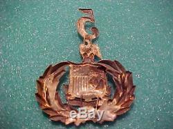 CIVIL War Union M-1858 Duryea's 5 Th New York Regt. Zouaves Kepi -hat Badge