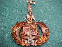 CIVIL War Union M-1858 Duryea's 7 Th New York Regt. Zouaves Kepi -hat Badge