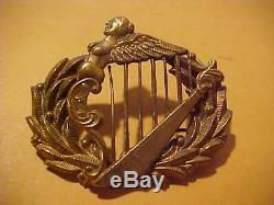 CIVIL War Union New York Irish Brigade Officer's Kepi Hat Emblem