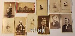 CIVIL War Usct CDV Photo Album Colored Troops Officers Il, Ny Units