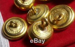 CIVIL War West Point Cadet Buttons H. V. Allien & Co. Ny