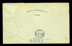 COLOMBIA 1904 Civil War & Inflation period cover with 5p Sc#273 from PALMIRA to NY