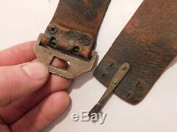 Civil War 1861 Pittman N. Y. Holster for Colt 1890 Army belt SN'ed buckle holder