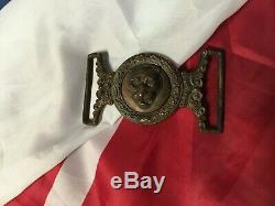 Civil War Belt Plate, New York Light Guard infantry and other Tiger units