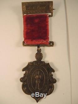 Civil War Brooklyn New York medal named M. C. Earl