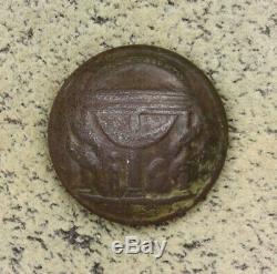 Civil War Button Dug Georgia Coat Horstmann & Alien NY Back Mark Massaponax VA
