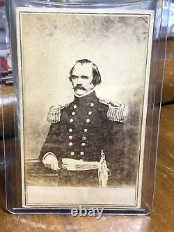 Civil War CDV Photo General Albert Sidney Johnston E. & H. T. Anthony New York