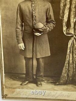 Civil War CDV Photo Union Enlisted Soldier Port Jarvis, New York