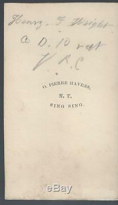 Civil War CDV Private Henry Wright 78th NY Vols and VRC