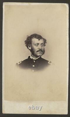 Civil War CDV Union Future Colonel Horatio B Reed 22nd NY Cavalry