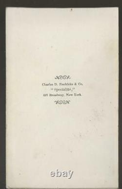 Civil War CDV Union General Abram Duryee 5th NY Zouaves