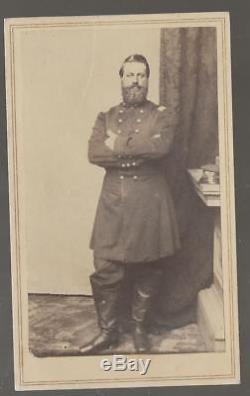 Civil War CDV Union Lt Colonel Jesse F Angell Manchester NH 10th NY Vols