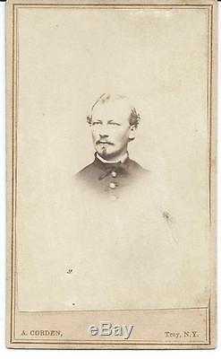 Civil War CDV Union Lt. Elams S Clapp 125th New York Volunteer Infantry KIA
