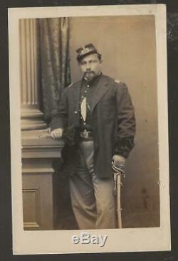 Civil War CDV Union Lt Friederich Von Schlumbach 29th NY Volunteer Infantry