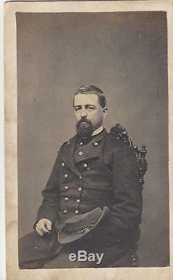 Civil War CDV of a Union Colonel Thomas S Hall 92nd NY Vols