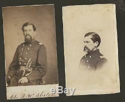 Civil War CDV's Colonel Stephen W Stryker 11th NYVI, 44th NYVI, 18th NY Cav