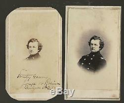 Civil War CDV's Union Surgeon Joseph W Robinson 82nd/141st/179th NY Vols