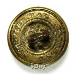 Civil War Confederate Kentucky Militia Cuff Button 15.04 mm SCHUYLER. H. &G NY BM