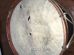 Civil War Drum made by Wm. S Tompkins & Sons Yonkers NY 1863