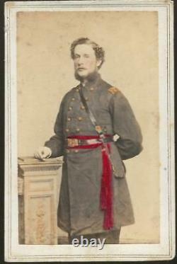 Civil War Era CDV Colonel/BBG Louis C Skinner 104th NY Infantry