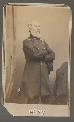 Civil War Era CDV Union General Edwin Vose Sumner of Syracuse NY