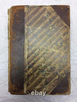Civil War Era Tribune Almanacs Bound 1863-1872 Rebel